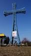 Zmyślona Parzynowska - Krzyż na największym wzniesieniu Wielkopolski Kobylej Górze 284 m.n.p.m.