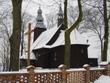 Myślniew - Kościół drewniany pw. Św. Jana Nepomucena  z1746 r.