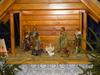 Szopki Bożonarodzeniowe wkościołach Gminy Kobyla Góra<br>Szopka w kościele w Myślniewie