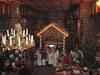 Szopka w kościele w Parzynowie