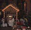 Szopki Bożonarodzeniowe wkościołach Gminy Kobyla Góra<br>Szopka w kościele w Parzynowie